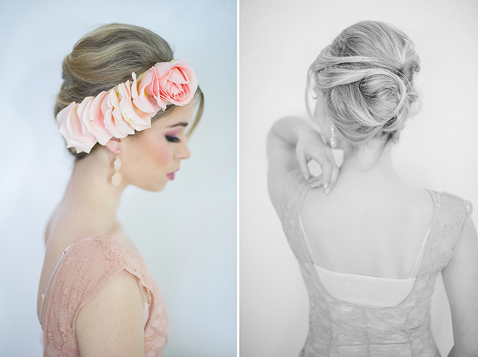 romantic pink bridal shoot | Shalynne Imaging | Glamour & Grace