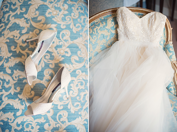 Reem Acra Eternity gown | Melissa Gidney Photography | Glamour & Grace