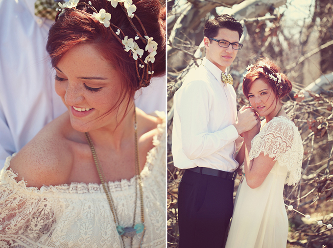 vintage bohemian wedding inspiration | Ashlee Layne Photography | Glamour & Grace