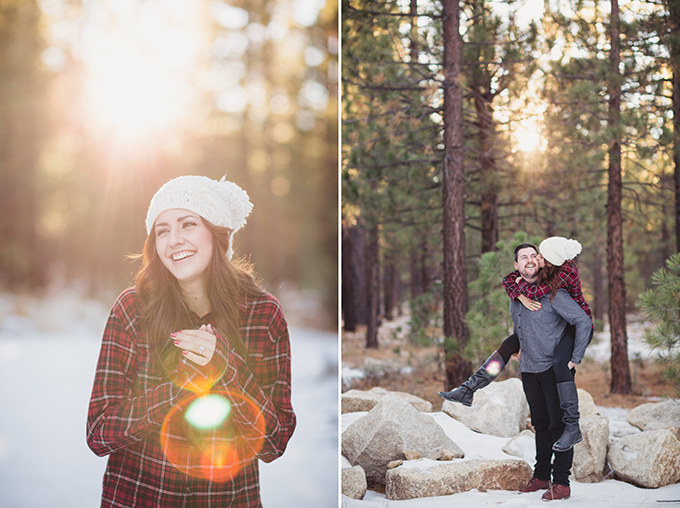 winter engagement | Snapmotive | Glamour & Grace