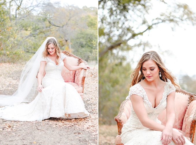 fall Texas bridal session | Cottonwood Road Photography | Glamour & Grace