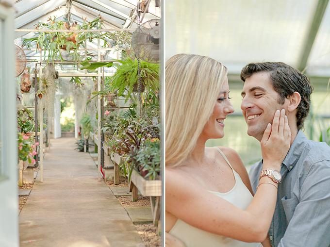 garden engagement session | Jamie Lefkowitz Photography | Glamour & Grace