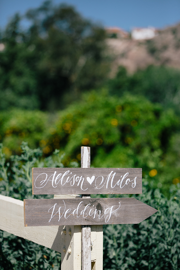 calligraphy signage | ashley tingley photography | Glamour & Grace