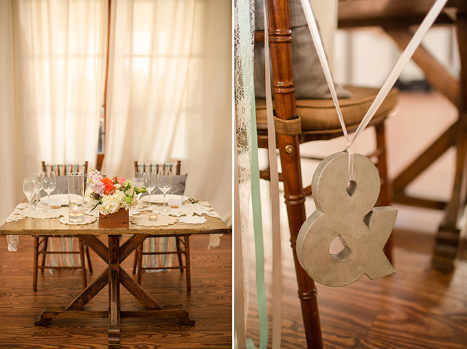 sweetheart table | Katelyn James Photography | Glamour & Grace
