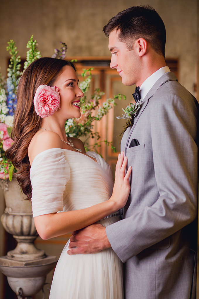 romantic garden wedding inspiration | Kate's Lens Photography | Glamour & Grace