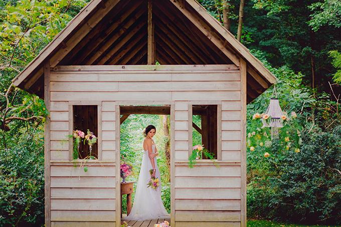 romantic garden wedding inspiration   Kate's Lens Photography   Glamour & Grace