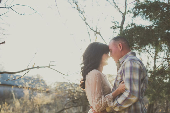 a sweet Nebraska engagement | Mae Small Photography | Glamour & Grace