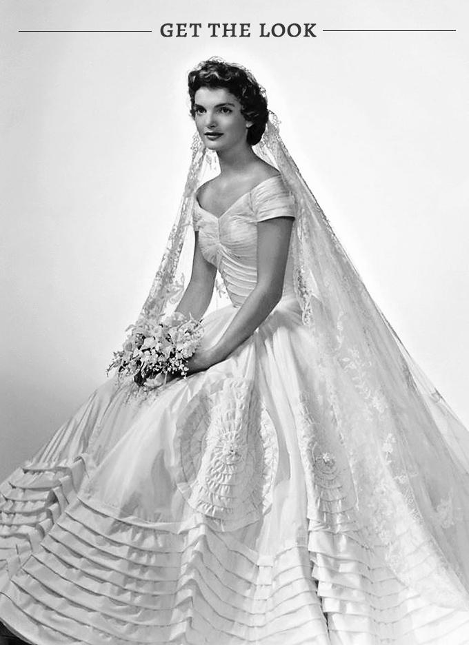 Jackie Kennedy Inspired Wedding Dress 1 Amazing get the vintage look