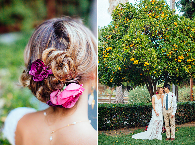 intimate California wedding | Snapmotive | Glamour & Grace