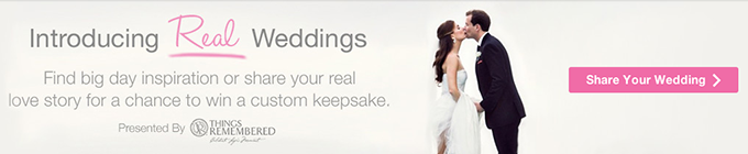 real weddings on Loverly