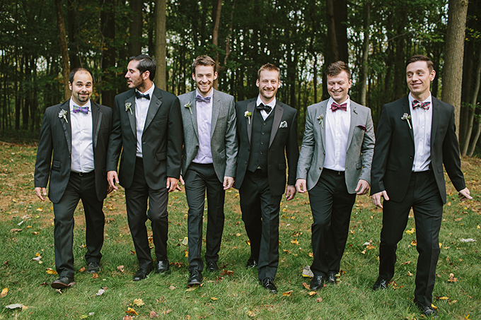bow tie groomsmen | Brooke Courtney Photography | Glamour & Grace