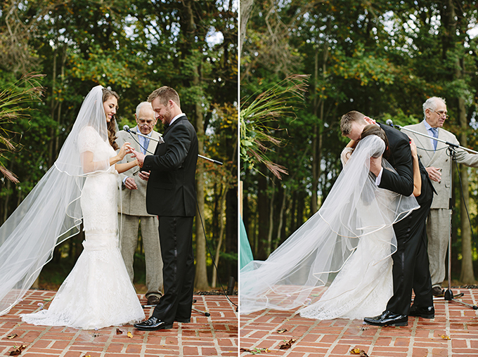 romantic backyard wedding | Brooke Courtney Photography | Glamour & Grace