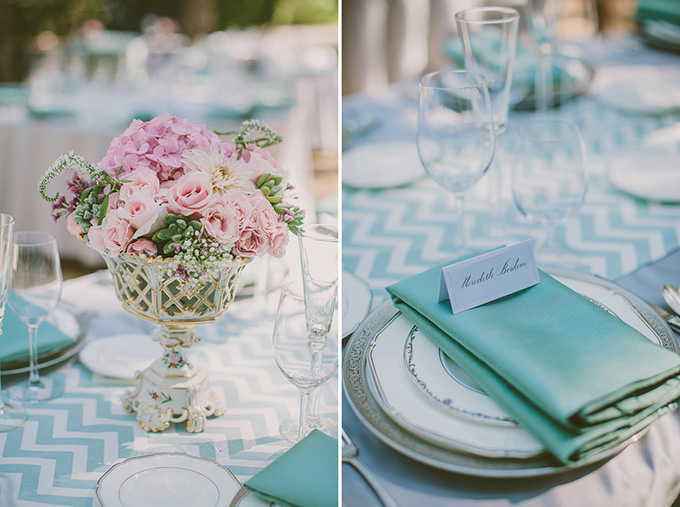 turquoise summer wedding | Kris Holland Photography | Glamour & Grace