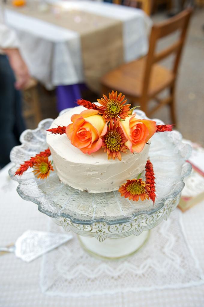 orange cake | D'Avello Photography | Glamour & Grace