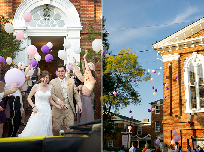 balloon exit | D'Avello Photography | Glamour & Grace