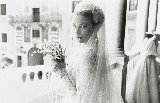 grace kelly wedding veil