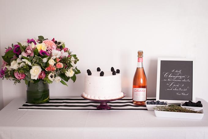 blackberry bridal shower   Jessamyn Harris   Glamour & Grace