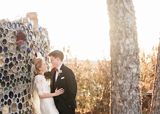 handmade red and gold wedding | Miranda Marrs Photography | Glamour & Grace