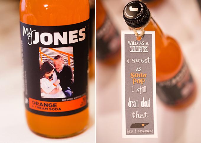 Jones soda favors | JoPhoto | Glamour & Grace