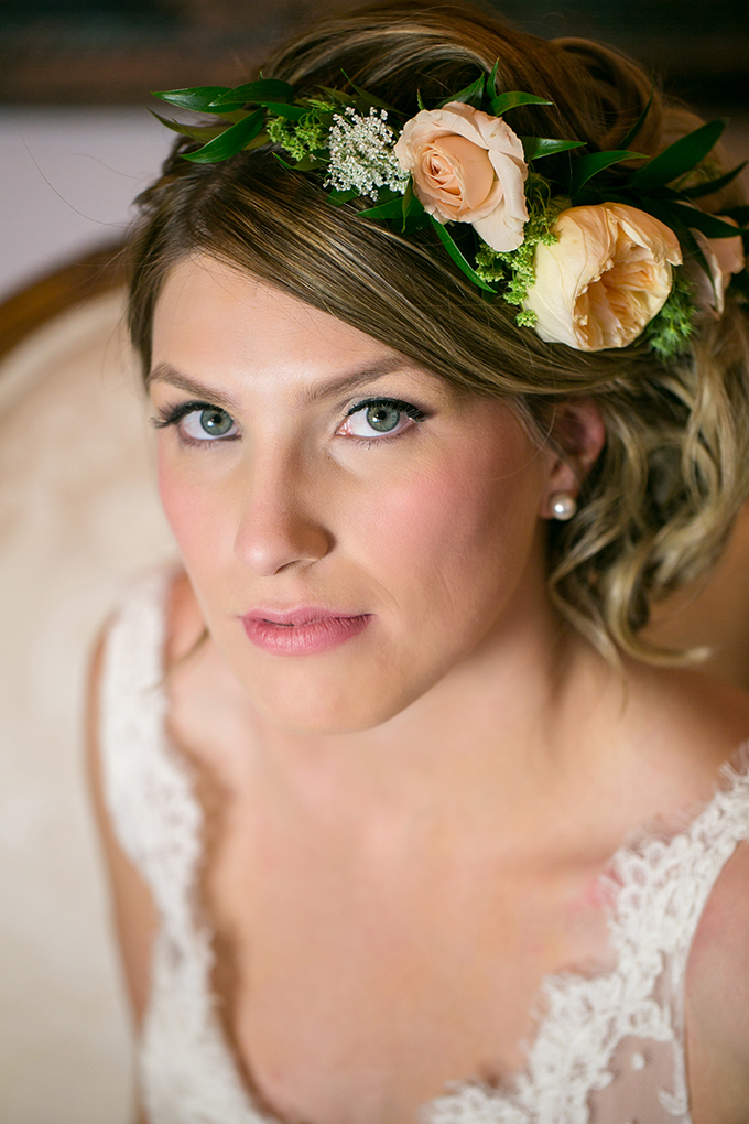 floral crown | Erin Johnson Photography | Glamour & Grace
