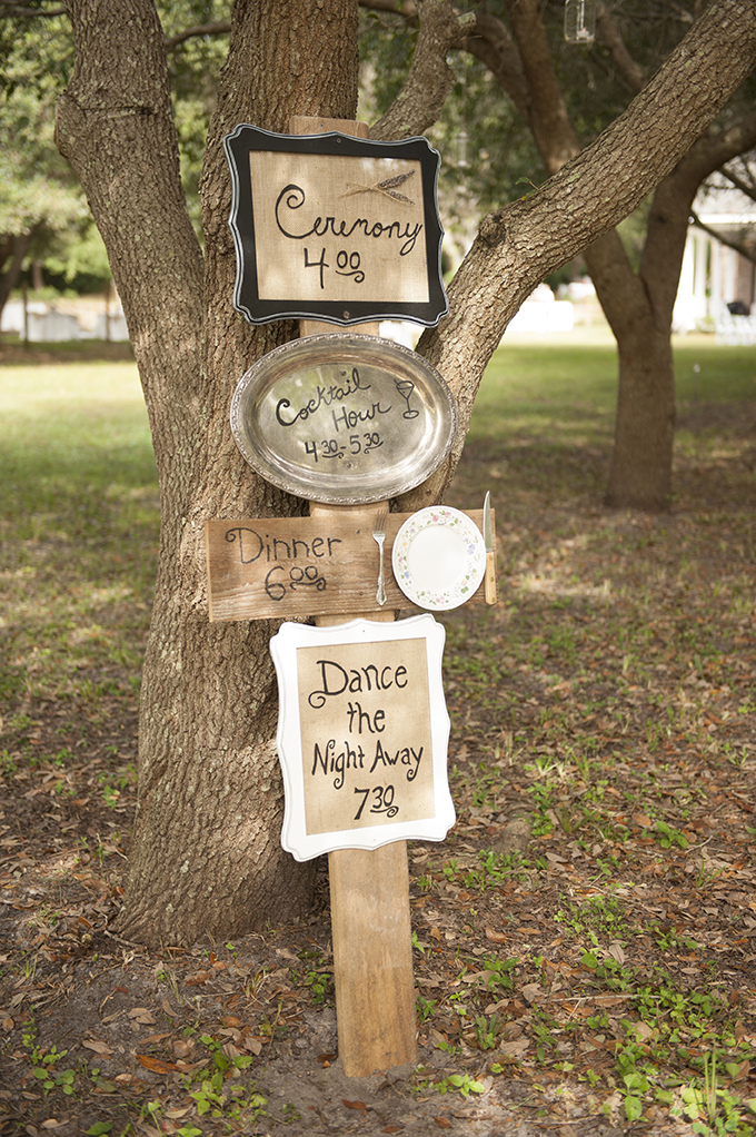 cute timeline sign | Stephanie A Smith Photography | Glamour & Grace