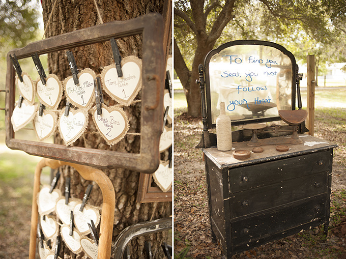 'follow your heart' seating | Stephanie A Smith Photography | Glamour & Grace