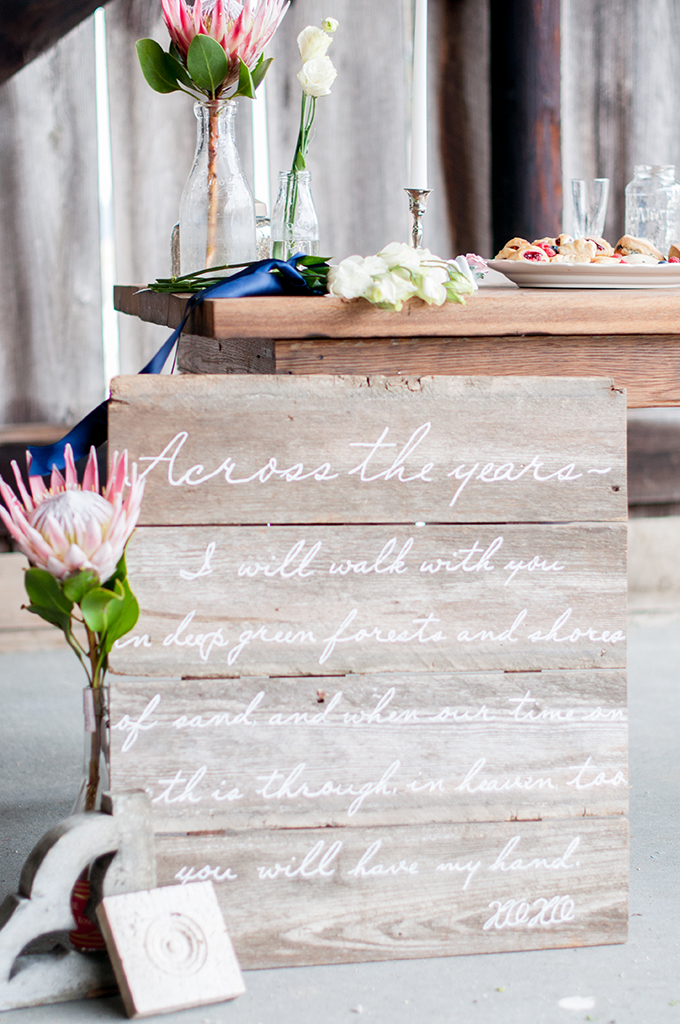 wedding signage | Kimberly Florence Photography | Glamour & Grace