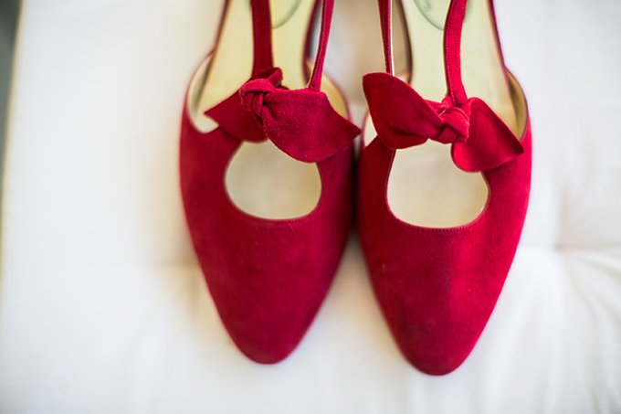 love these red suede shoes | Lovers of Love | Glamour & Grace