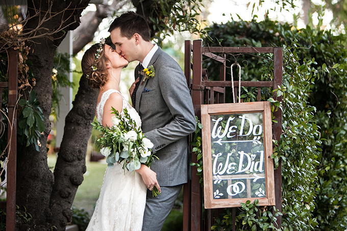 handmade backyard wedding | Lovers of Love | Glamour & Grace