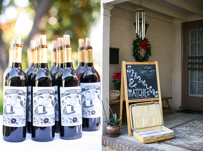 custom wine bottles | Lovers of Love | Glamour & Grace