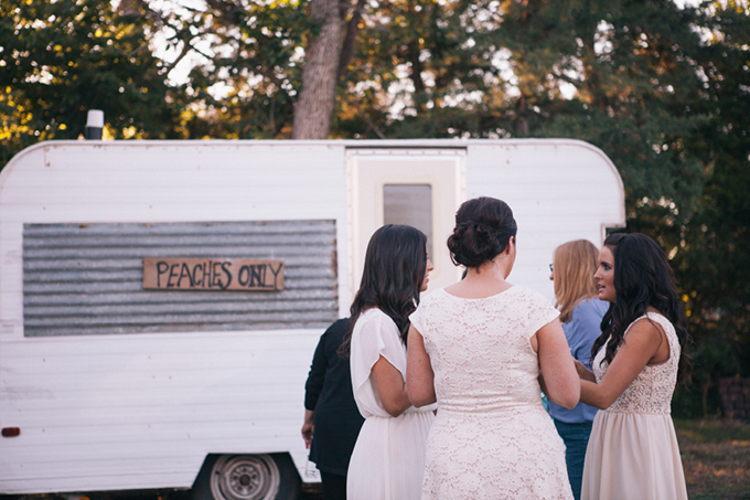 'peaches' portable restroom | THE LEEKERS | Glamour & Grace