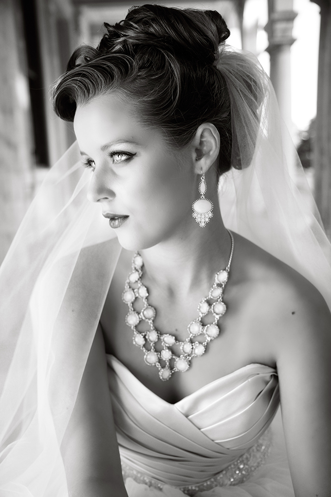glam bride | Marie Violet Photography | Glamour & Grace