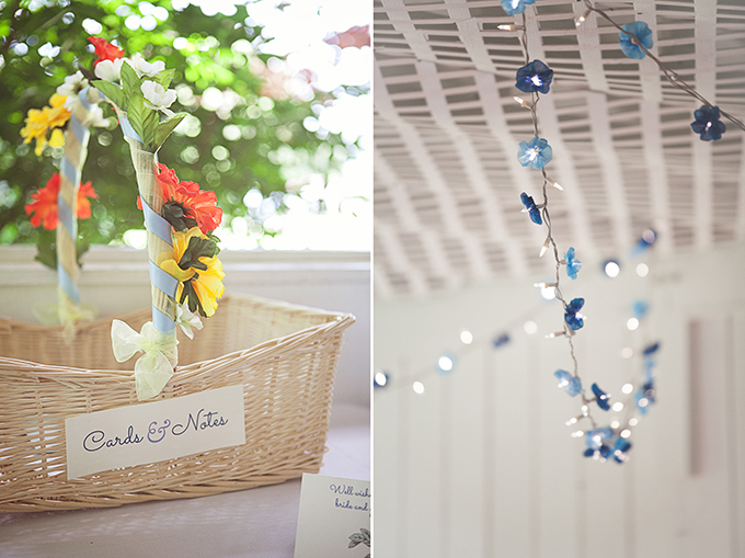 summer blue DIY wedding | Brigham & Co. | Glamour & Grace