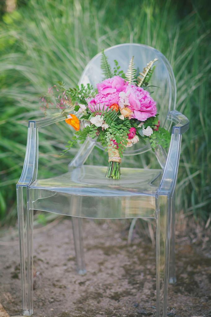 pink peony bouquet | Alexandra Wallace | Glamour & Grace