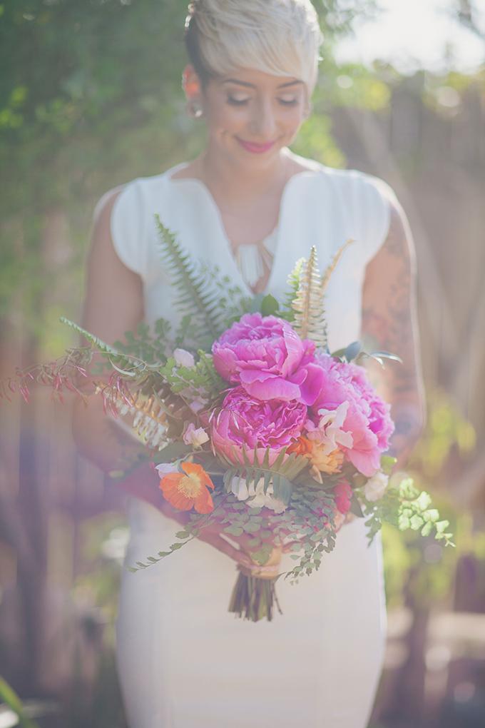 lush pink peony bouquet | Alexandra Wallace | Glamour & Grace
