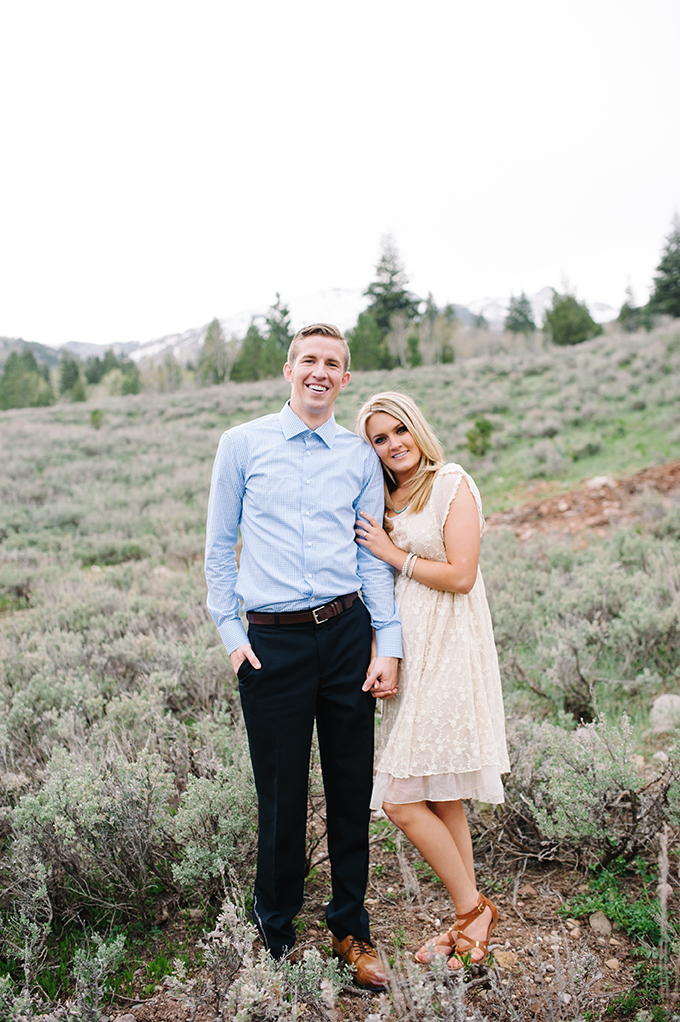 mountain engagement | Jessie Alexis Photography | Glamour & Grace