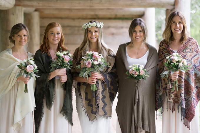 fall bridesmaids   Christie Graham Photography   Glamour & Grace