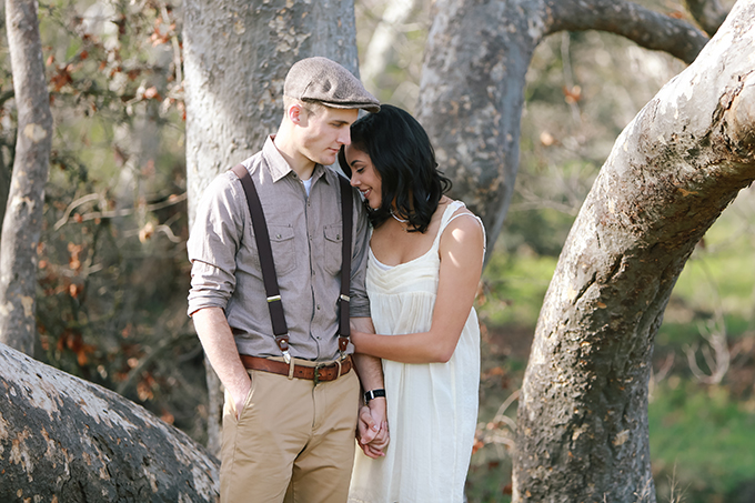 Sycamore Grove engagement session | Kori & Jared Photography | Glamour & Grace