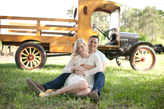 blueberry farm engagement | Ansley Beth Photography | Glamour & Grace