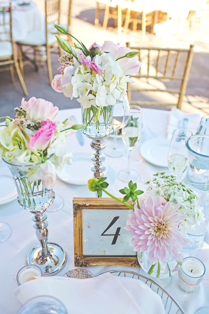 pink centerpieces   Lindsey Gomes Photography   Glamour & Grace