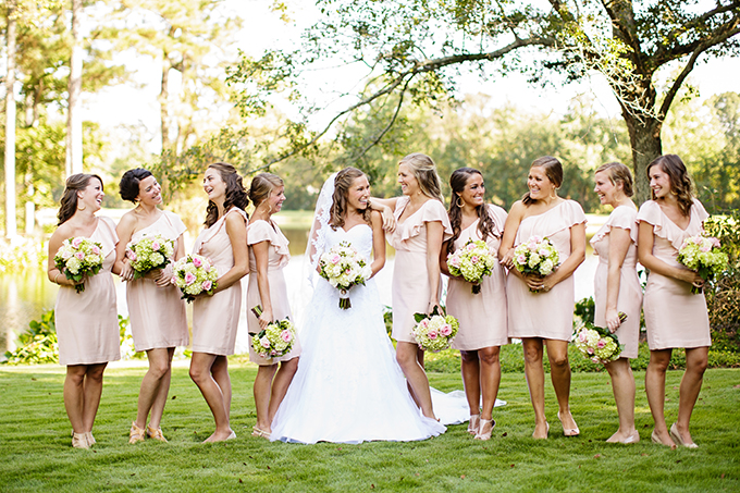 Jenny Yoo bridesmaids | Robyn Van Dyke Photography | Glamour & Grace