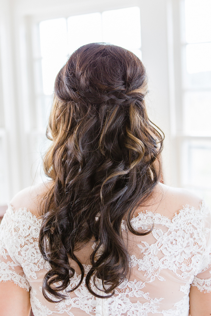 braided half up do | Laura Smith Photography | Glamour & Grace