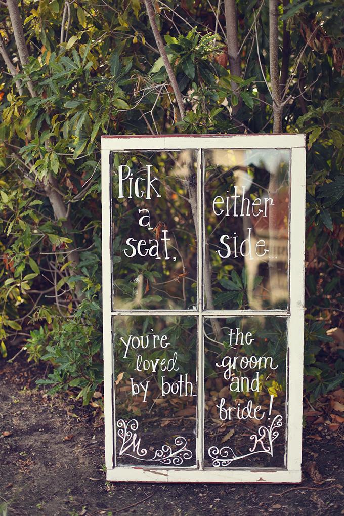 pick a seat | Lukas & Suzy VanDyke | Glamour & Grace
