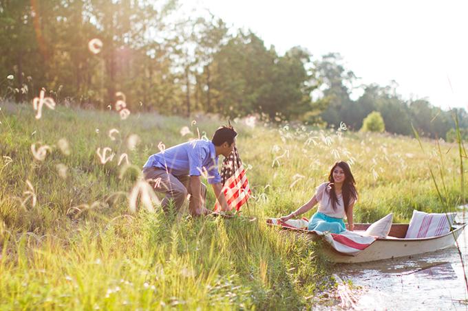 Americana engagement | Archetype Studio | Glamour & Grace