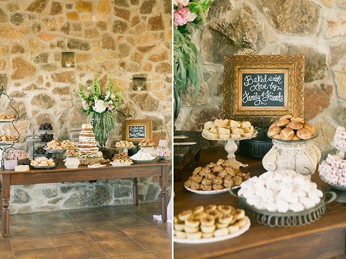 dessert table | Logan Howard Photography | Glamour & Grace