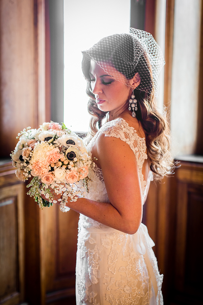 elegant vintage wedding inspiration | Carina Photographics | Glamour & Grace