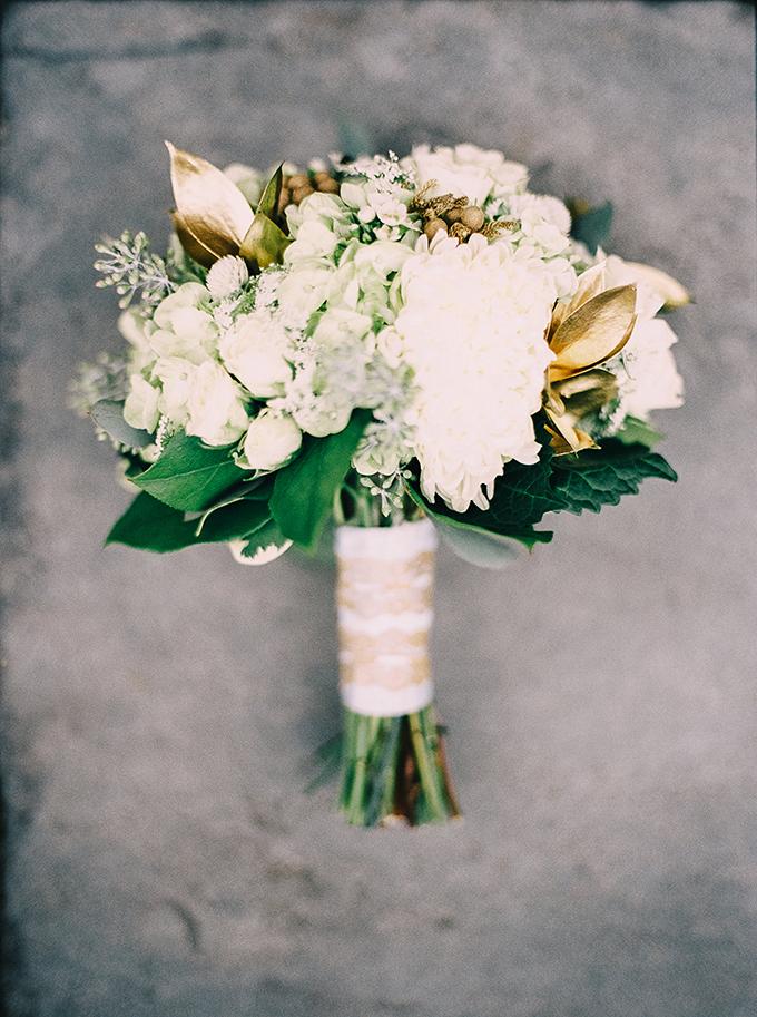 gold bouqet from Blackcreek Flowers   Nikki Santerre