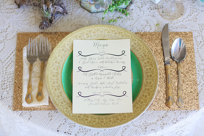 vintage succulent wedding inspiration | Melissa Enid Photography | Glamour & Grace
