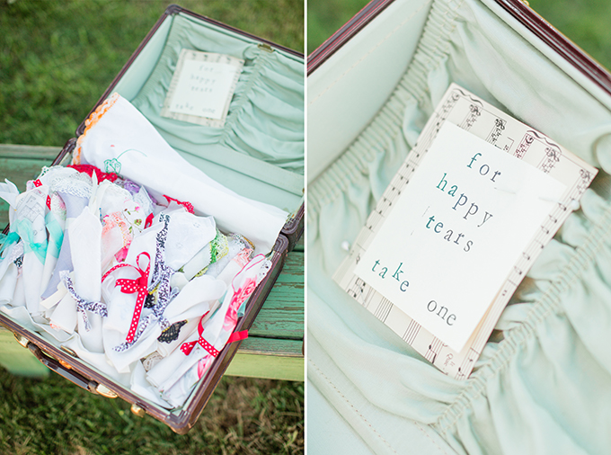 hankies for happy tears | Two Maries | Glamour & Grace