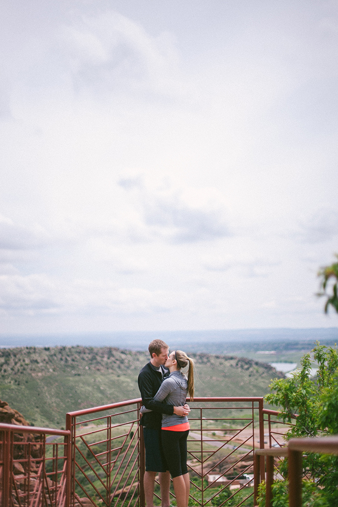 red rocks proposal and engagement party | Sara Lynn Photographic | Glamour & Grace